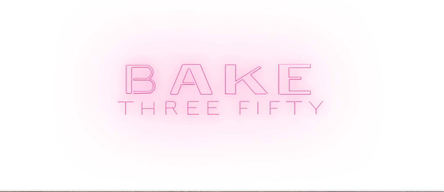 Bake Three Fifty title